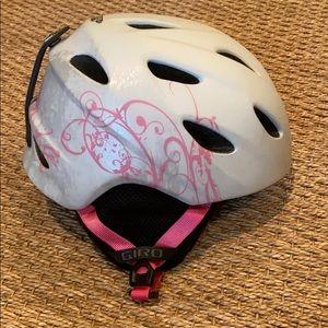 Girls SZ SM Giro ski helmet .